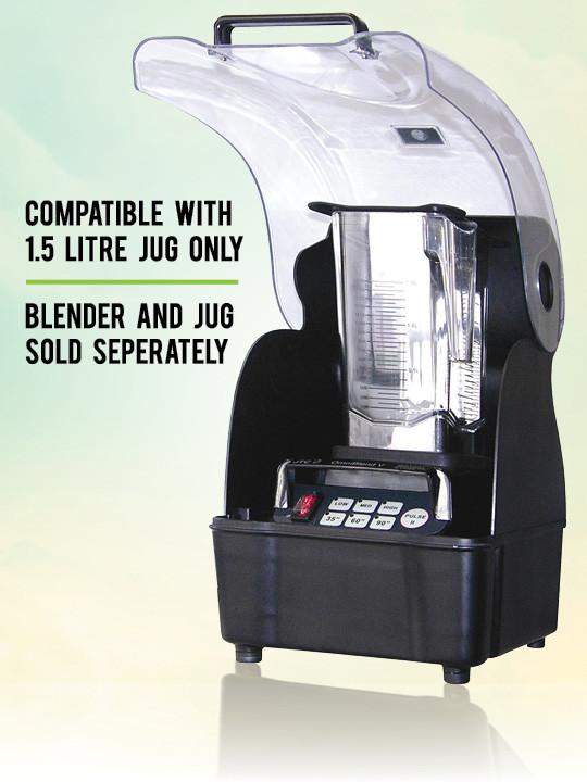 OmniBlend Australia OmniShield Sound Enclosure for 1.5 Litre BPA Free Image 2