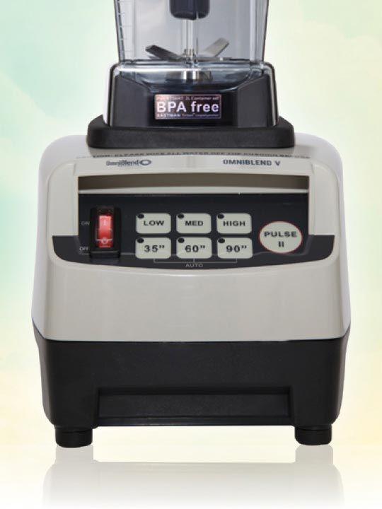 OmniBlend V 2 Litre Pro STONE BPA Free Image