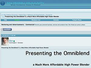 omniblend australia rawfreedomcommunity.info blender review vitamix blendtec