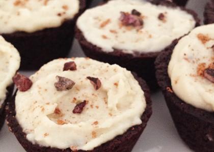 Cacao Coconut Vegan Cupcakes