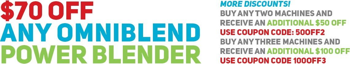 OmniBlend Australia Christmas 2015 Sale Banner
