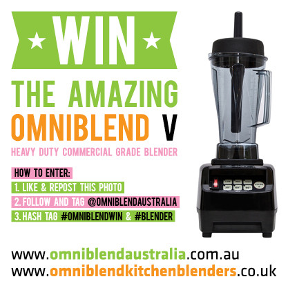 OmniBlend Australia Instagram Competition Image