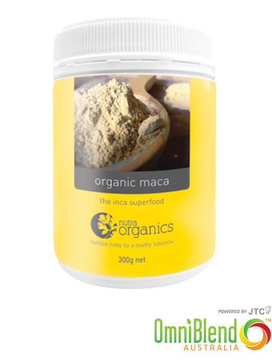 OmniBlend Australia Superfood Superstore Nutra Organics Organic Maca 300g