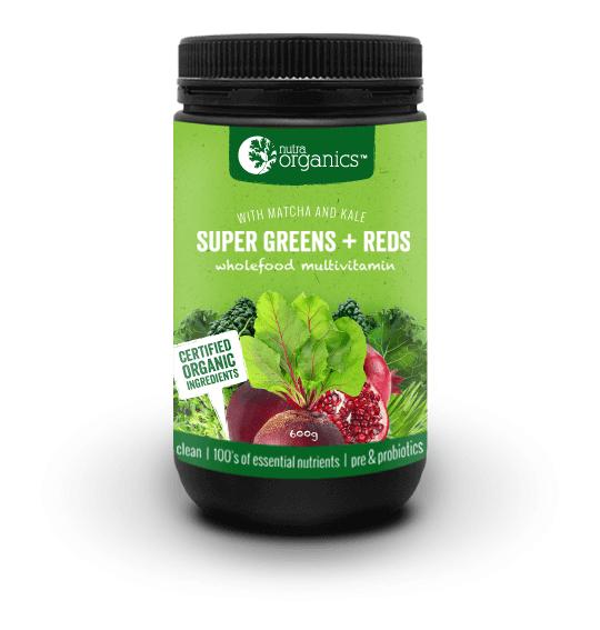 Super Greens + Reds 600G