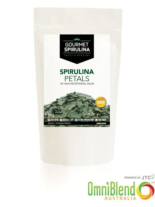OmniBlend Australia Superfood Superstore Gourmet Spirulina Petals 90g