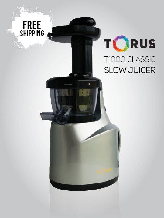 Torus Slow Juicer T1000 Silver