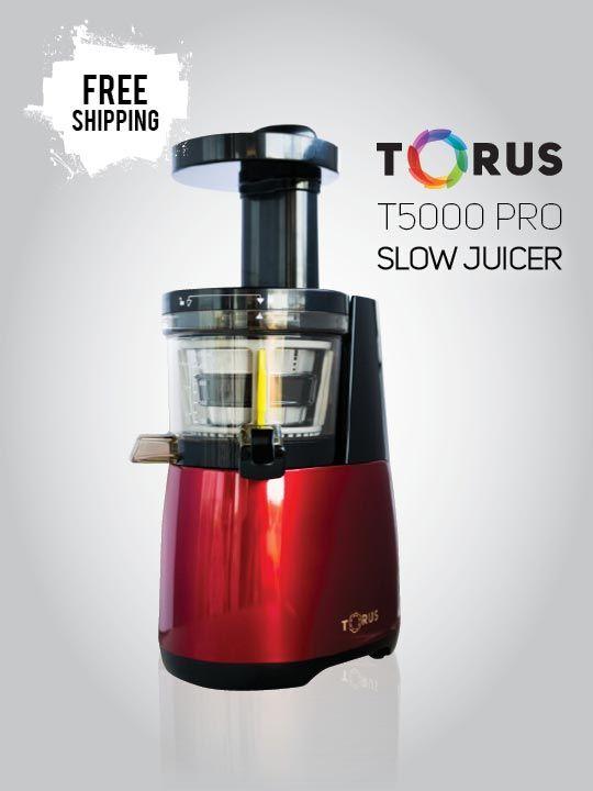 Torus_Slow_Juicer_T5000_Red