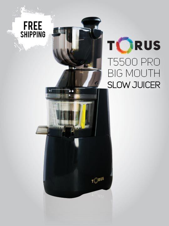 Torus_Slow_Juicer_T5500_Black
