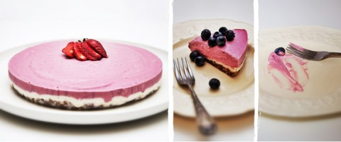 Raw Cashew & Raspberry Cheesecake Blog Recipe