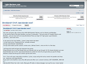 omniblend australia light-reviews.com blender review vitamix blendtec