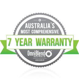 OmniBlend Australia Product Portals Warranty