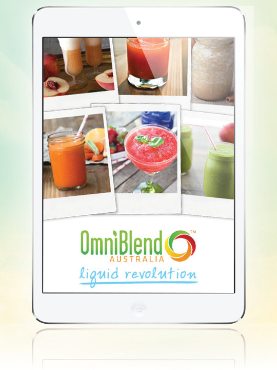 JTC OmniBlend Australia Liquid Revolution eBook Free with every Blender Purchase Image