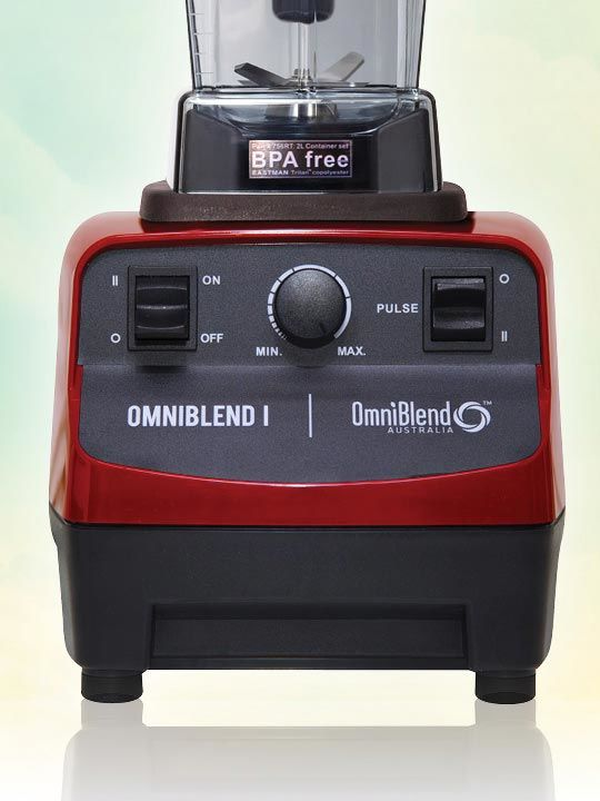 OmniBlend I 2 Litre Pro CHERRY BPA Free Image