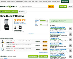 omniblend australia productreview.com.au blender review vitamix blendtec