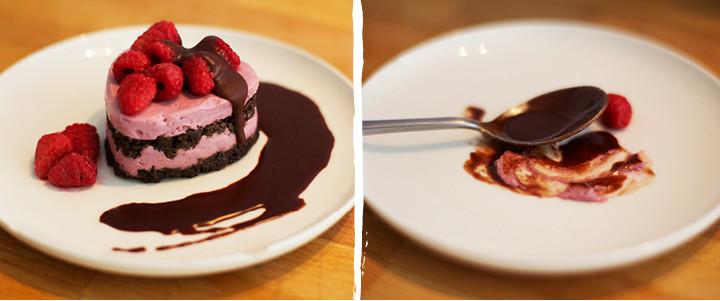 Valentines Day Raspberry Chocolate Fudge Heart Blog Recipe