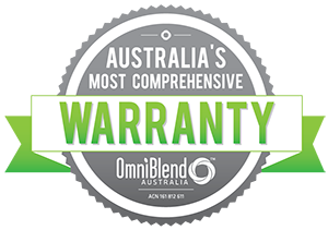 omniblend australia most comprehensive warranty
