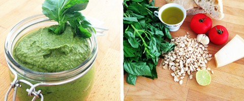 Raw Cashew Pesto Blog Recipe