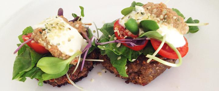 Lentil Burger Blog Recipe