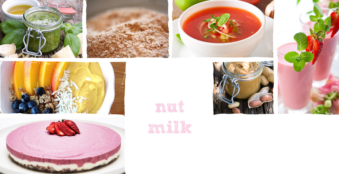 OmniBlend Australia JTC What Can it Make Nut Milk Text Slider Image