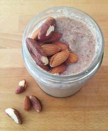 OmniBlend Australia Almond & Brazil Nut Butter Recipe Image