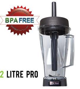 Blender Jug Comparison 2 Litre Pro BPA Free