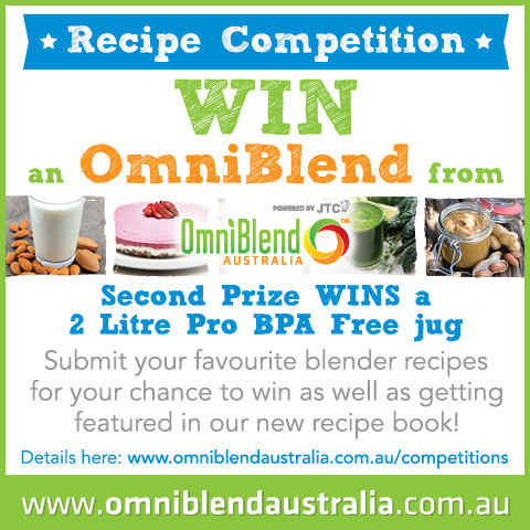 OmniBlend Australia Recipe Competition WIN