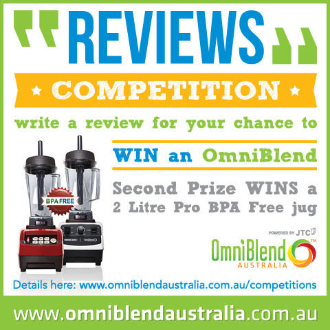 OmniBlend Australia Powered by JTC www.productreview.com.au Product Review Competition