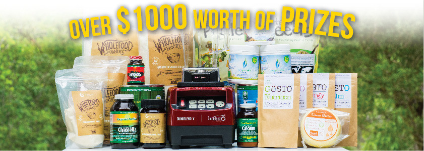Superfood Superfood Competition Prizes
