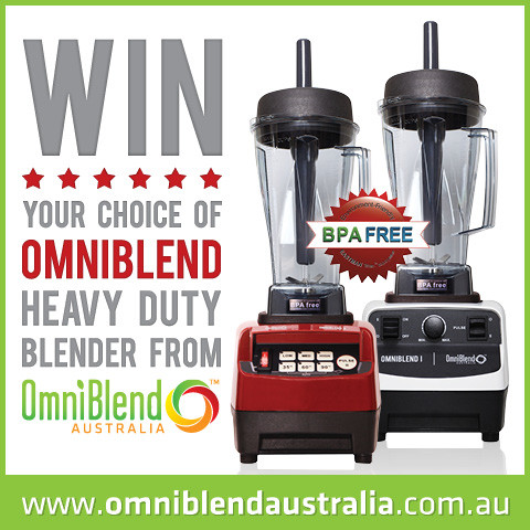 OmniBlend Australia Wholefood Simply Competition Win Image