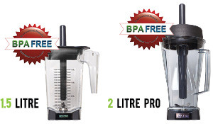 OmniBlend Product Information 1.5 and 2 Litre Pro BPA Free Jugs