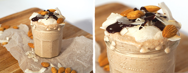 Almond Joy Smoothie Blender Recipe