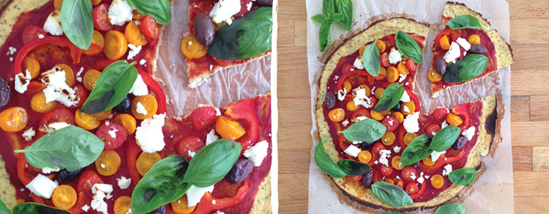 Cauliflower Crust Pizza Recipe OmniBlend Australia
