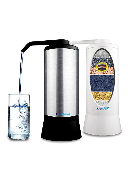 AlkaWay UltraStream Hydrogen Rich Water Ionizer Filter