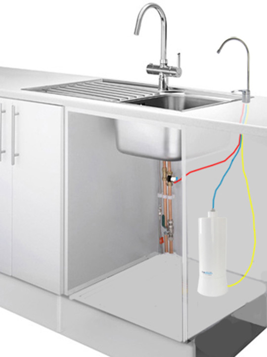AlkaWay UltraStream with Under Sink Kit Deal