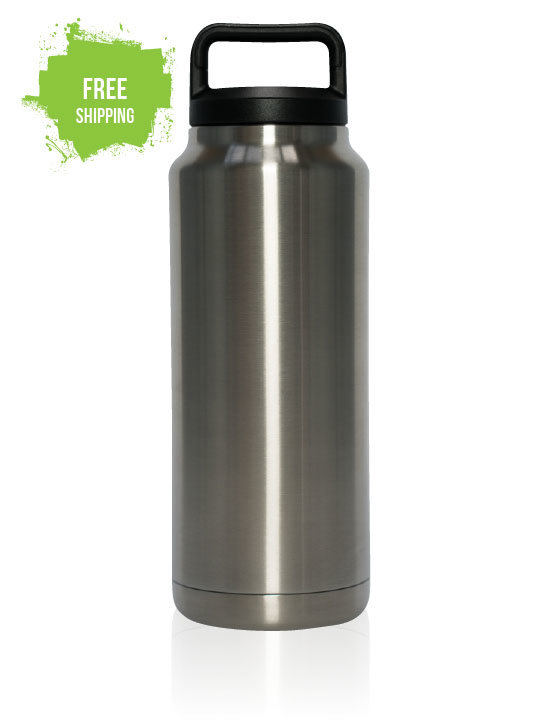 Eco Bottle 1.1 Litre - Double Wall Vacuum Insulated
