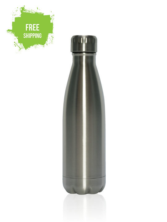 Eco Bottle 450ml - Double Wall Vacuum Insulated
