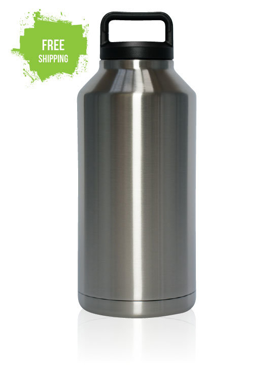 Eco Bottle 1.9 Litre - Double Wall Vacuum Insulated